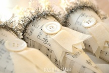Fabric & Paper Cones / Tussie Mussies & Victorian Cones Fabric Whimsy & Paperie / by Jill Marcott-McCall ~* Feathers & Flight*~