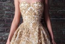 Gold Wedding Dress, Accessories, Decor, Theme and Inspiration / Gold is a rich regal color and perfect for a wedding day.  From pure gold wedding dresses, to golden cakes, gold rings, gold invitations and gold tables.  For a royal day filled with love and beauty, choose gold! / by Avail & Company | Wedding Dresses and Bridal Gown Designer in the Chicago Illinois Area