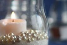 Candles and the like