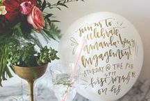 DIY / DIY Projects and Inspiration for Parties, Weddings, and Entertaining / by Oh So Beautiful Paper