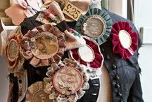 Prize Ribbons & Rosettes / by Jill Marcott-McCall ~* Feathers & Flight*~