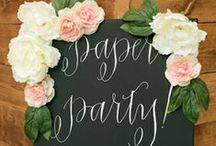Paper Party 2014! / by Oh So Beautiful Paper