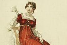 Becoming Jane /  Jane Austen Inspired-Fashion Plates,