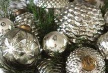A Silver & Evergreen Christmas
