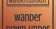 Wander Down Under / Pin and head to the website! -WANDERLUSTDUST- wanderlust, wanderlustdust, adventure quotes, travel quotes, quotes, life quotes, love, adventure is calling, journey, cute, gorgeous, universe, LOA, rasta, biracial couple, coloured, one love, backpacking, budget, travel with babies, travel with children, road trip, tactical clothing, bohemian, boho, boho clothing, wander, down under, Australia, Aussie, adventure, outback, wilderness, great barrier reef, ayers rock, uluru