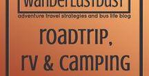 wanderlust road trip, RV & camping accessories / -WANDERLUSTDUST- Adventure travel strategies and bus-life blog