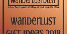 Wanderlust gift Ideas 2018 / Bringing you the ultimate list of unique gift ideas for 2018. Got someone hard to buy for? We have you covered! Save yourself time and headaches with our range of interesting and useful gift ideas. We guarantee you'll find the perfect present (and maybe a little something for yourself to!) Holidays, gift, present, 2018, ideas, hard to buy for, hard to please, easy, simple, fast, no drama, buy #christmas #gift #present #hardtobuyfor #christmas2018 #wanderlustdust #fussy #birthday #holiday