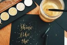 Calligraphy Fonts & Practice