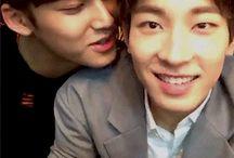 →k.mg + j.ww // meanie / 김민규 × 전원우  —for the dorks i could never help but love
