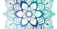Henna+Zentangle+Mandala Art ❤⭐