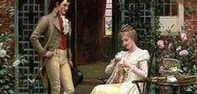 Etiquette - Regency and Victorian / What was expected of couples who courted in the Regency era? What manners did they have? Social Etiquette of the time. ~ameliafernside.com