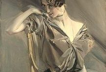 "Giovanni Boldini (1842 - 1931) / Giovanni Boldini (31 December 1842 – 11 July 1931) was an Italian genre and portrait painter who lived and worked in Paris for most of his career. According to a 1933 article in Time magazine, he was known as the ""Master of Swish"" because of his flowing style of painting."