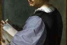 "Andrea del Sarto (1486 - 1530) / Andrea del Sarto (1486–1530) was an Italian painter from Florence, whose career flourished during the High Renaissance and early Mannerism. Though highly regarded during his lifetime as an artist senza errori (""without errors""), his renown was eclipsed after his death by that of his contemporaries, Leonardo da Vinci, Michelangelo and Raphael."