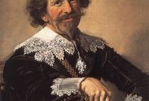Frans Hals (ca. 1582 - 1666) / Frans Hals the Elder ( c. 1582 – 26 August 1666) was a Dutch Golden Age painter, normally of portraits, who lived and worked in Haarlem. He is notable for his loose painterly brushwork, and he helped introduce this lively style of painting into Dutch art. Hals played an important role in the evolution of 17th-century group portraiture.