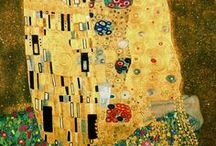 Gustav Klimt (1862 - 1918) / Gustav Klimt (July 14, 1862 – February 6, 1918) was an Austrian symbolist painter and one of the most prominent members of the Vienna Secession movement. Klimt is noted for his paintings, murals, sketches, and other objets d'art. Klimt's primary subject was the female body,and his works are marked by a frank eroticism.