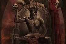 Demons and Death / Демоны, смерть, арт