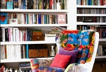 Bookshelves / We have a home office that needs a plan. We have no plan! A plan is usually based on ideas and here I am collecting all sorts of good ideas of how to store all the books we hoard.