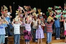 Elementary music / by Annie Luebke