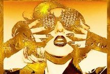 """little monster / """"I'm just trying to change the world, one sequin at a time.""""  --  Lady Gaga / by Emerie Marie"""