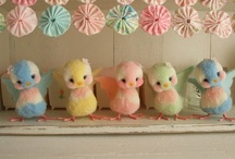 Here Comes Peter Cottontail / Decorating and crafting ideas for spring and Easter