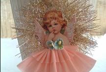 Christmas Ornament Ideas / handmade, vintage style Christmas ornaments to treasure