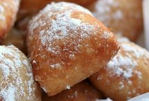 "Beignets / wonderful New Orleans ""doughnuts"" / by Charlotte Miears"