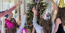 New Year's Eve Traditions / Try something NEW this New Year's Eve by dressing up your Christmas tree for New Year's Eve with Oh! New Year's Tree.  A fun, easy and memorable tradition for the whole family!