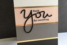 DIY - Thank's cards