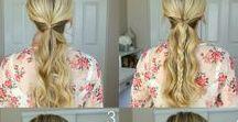 tutos coiffure... / Je vous propose plusieurs coiffures a réaliser chez soi pour se sentir mieux et changer de coiffures basics ....