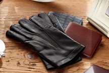 Cashmere Lined Leather Gloves / ANTORINI, www.antorini.com