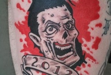 Branded With Brain-Eaters / Tattoos of zombies and all things related to the undead.  / by Run For Your Lives