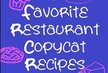 Copy Cat...Recipes  / by Barbara Phillips