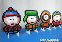 Hama Beads / one  day i'll recreate them all.