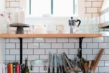 ID : cooking spaces & style / Kitchens, design, layout, organization, finishes, style