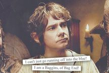 Fanstuff: The Hobbit || LOTR / Just saw the first of the Hobbit-movies and was fascinated; LOVE Martin Freeman as Bilbo ❤️❤️❤️  Now I think I should add LOTR too