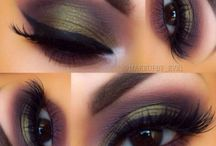 Eye Make Up & Brow Goals / Eye makeup looks, brows on fleek