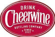 Cheerwine / Cheerwine is a unique, distinctly cherry-flavored soft drink that is as much a popular culture phenomenon as it is popular beverage. Known as the Nectar of North Carolina.