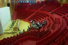 Conference Venue - Inside / The rooms and spaces inside the Bicocca University, where the action takes place!