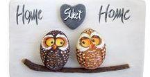 Owl Sweet Owl Artworks / Unique Artworks Handmade with Love!   www.owlsweetowl.etsy.com