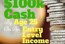 Money Saving Tips / saving money, personal finance, money management