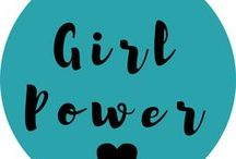 Girl Power / A group board for girls to get together to support girl power! If you are interested in joining the group board, make sure to follow me and send me a message asking to join! I'm willing to accept anyone and everyone! If you are accepted to the board, please make sure you are pinning to it on a regular basis so it can continue to grow. Please make sure that the pins here are related to the theme. Pins unrelated to the theme will result in your removal from the board if it occurs too many times.