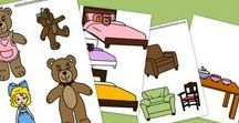 Goldilocks (three bears) / All things ... the story - the play ... the math, the party .. the art ....