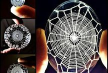 Spider Webs Everywhere! / Spider webs in all forms and shapes to match all tastes and moods: actual spider webs, jewelry and decoration. Message me if you wish to collaborate.