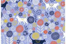 Vicky Yorke Designs - Patterns & Illustration / A selection of patterns, illustrations and typography from the portfolio of surface pattern designer, Vicky Yorke (Vicky Yorke Designs). All designs are available for licensing from www.vickyyorkedesigns.co.uk