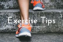 Exercise Tips / || Planning on getting or staying healthy? Here are a few tips that I've found || . . . health | exercise | fitness | healthy eating | tips | take action | healthy | lose weight | lifestyle change