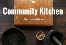 The Community Kitchen || Group Board / A community Board to share your food and drinks ideas!  PLease limit pins to 5 a day - Spammers will be removed. IF you would like to join, 1. Add Collectively ME on Pinterest  not just this board, so i can add you. 2. Email CollectivelyMe by pressing on the paper plane icon at the top of the profile. Include your Pinterest name and the board you want to join.  Food, cooking, Kitchen ideas, Cooking recipes, Cooking Hacks, Cooking desserts, Drinks, Recipies easy, Recipies Healthy
