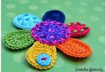 Crochet Flowers  / by Marcia Scarpelli