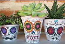 Season: Autumn / Celebrating fall and fall holidays: Halloween, Dia de los Muertos (Day of the Dead), All Souls' Day