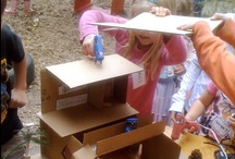 Play: Making / Learning making/crafting skills, with emphasis on process and open-ended projects.