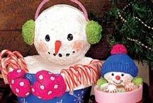 Snowman decor/crafts